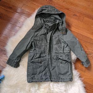 H&M cargo jacket utility unisex